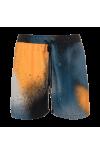 rookiro-Premium-Badeshorts-Herren-Raw-mittellang